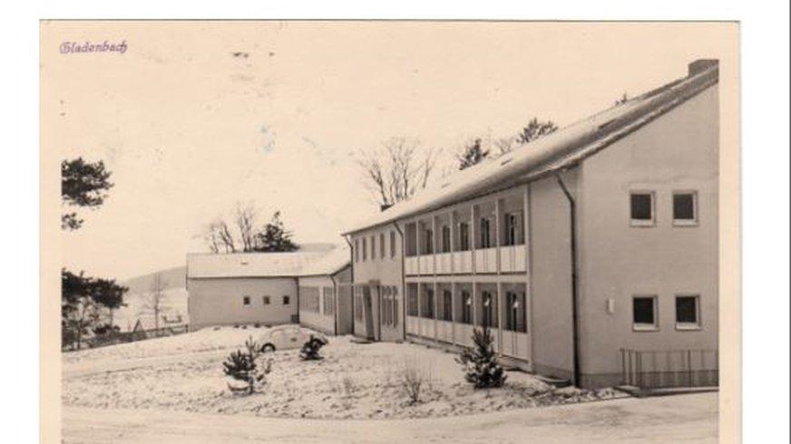 Postkarte Bildungszentrum Gladenbach