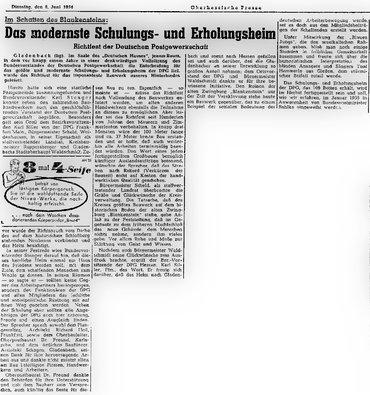 Richtfest Oberhessische Presse 1954