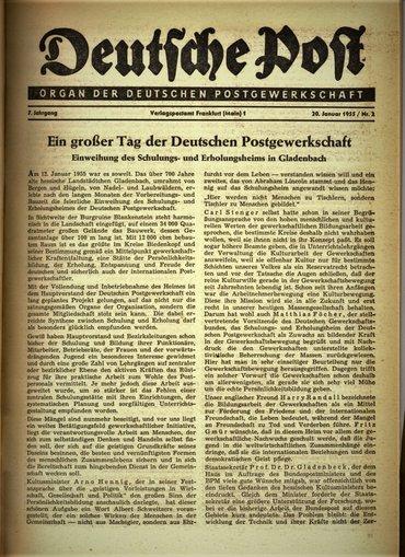 Einweihung Gladenbach
