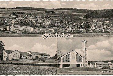 Postkarte Gladenbach 1961