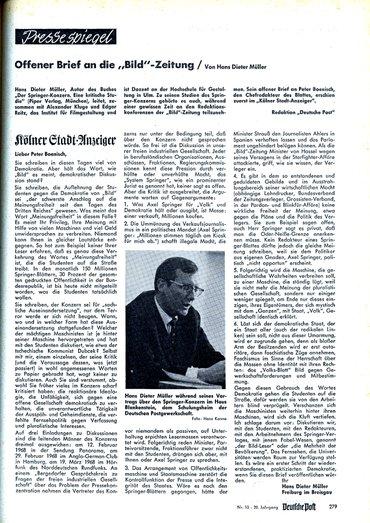Offener Brief , Förderverein BIZ Gladenbach